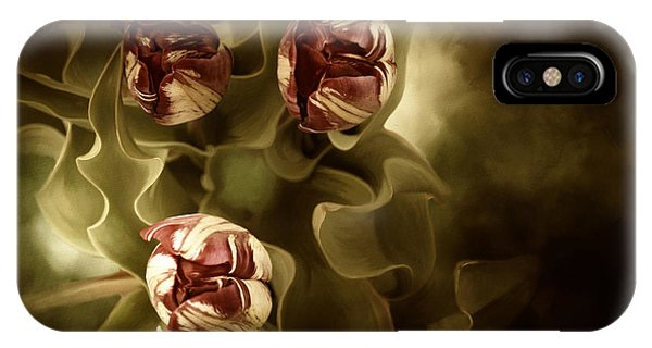 Tulips In The Mist II IPhone Case