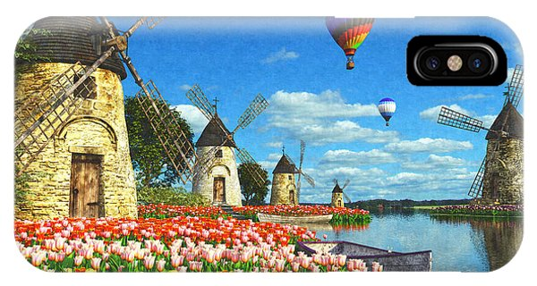 Holland iPhone Case - Tulips Of Amsterdam by Dominic Davison