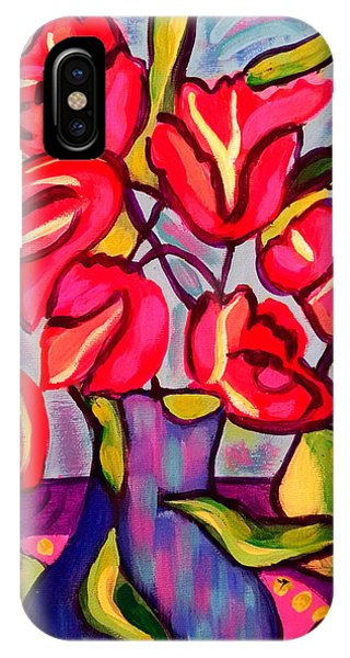 Tulips With Fruit IPhone Case