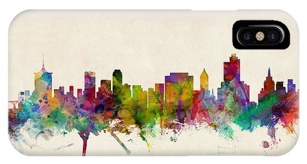 Tulsa Oklahoma Skyline IPhone Case