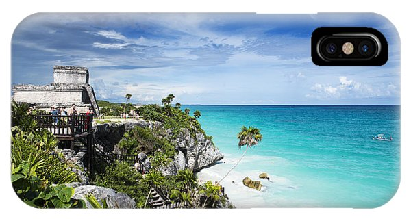 Maya iPhone Case - Tulum by Yuri San