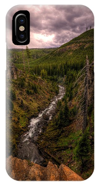 IPhone Case featuring the photograph Tumalo Creek by Matt Hanson