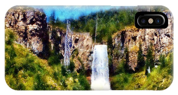 Tumalo Falls IPhone Case