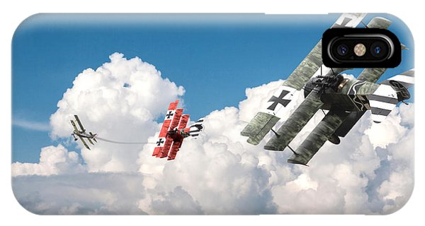 Tumult In The Clouds IPhone Case