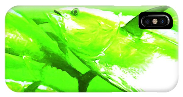 Skipjack iPhone Case - Tuna Fish by Wingsdomain Art and Photography