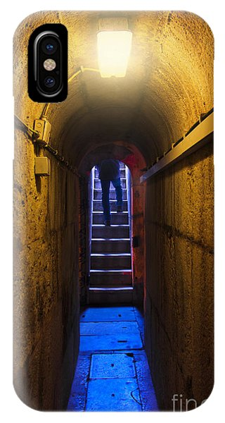 Dungeon iPhone Case - Tunnel Exit by Carlos Caetano
