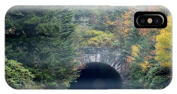Tunnel On Parkway Phone Case by Melony McAuley