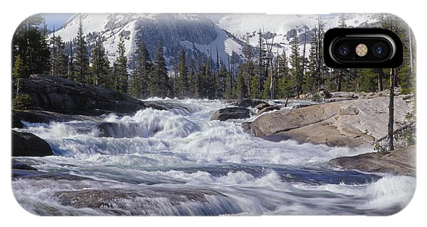6m6539-tuolumne River  IPhone Case