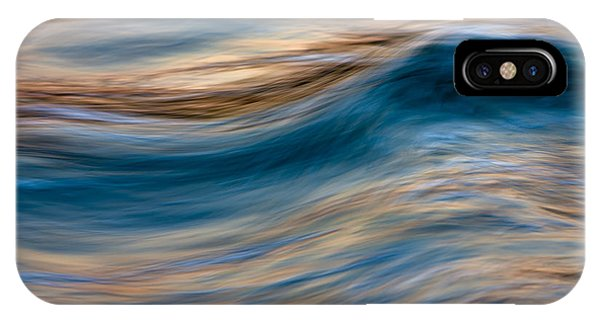 Turbulence Water And Color  73a9760 IPhone Case