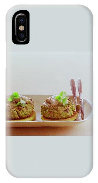 Turkish Style Lamb Burgers IPhone Case