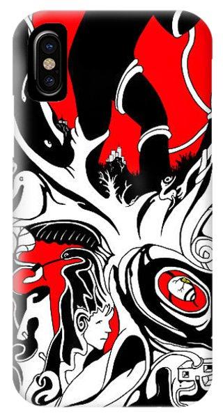 Turmoil Restraint IPhone Case