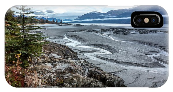 IPhone Case featuring the photograph Turnagain Tide Flats by Tim Newton