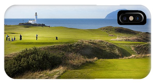 Turnberry Golf Course Prints IPhone Case