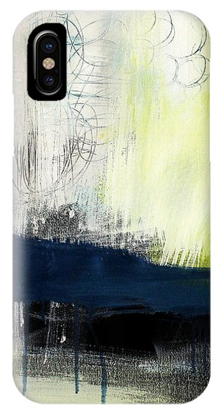 Turning Point - Contemporary Abstract Painting IPhone Case