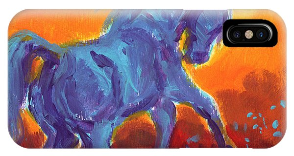 Turquois Stallion IPhone Case