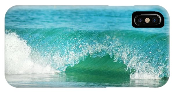 Turquois Waves  IPhone Case