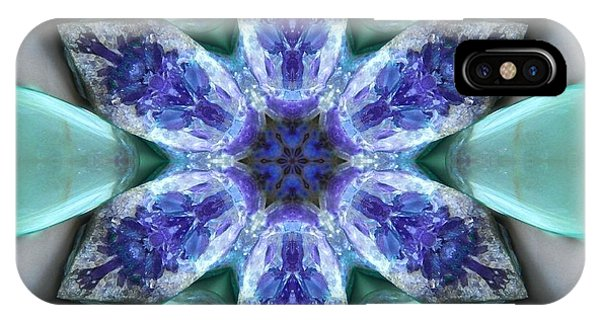 Turquoise Amethyst Star Mandala IPhone Case