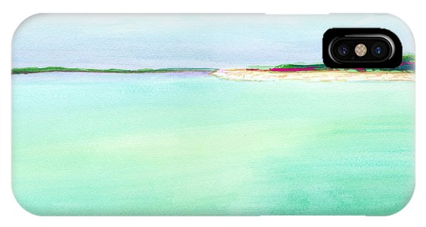 Turquoise Caribbean Beach Horizontal IPhone Case
