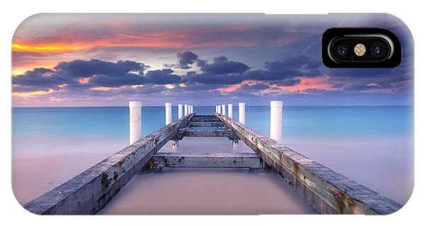 Sunset iPhone Case - Turquoise Paradise by Marco Crupi