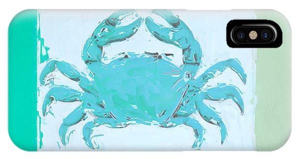 Laguna Beach iPhone Case - Turquoise Seashells Xv by Lourry Legarde