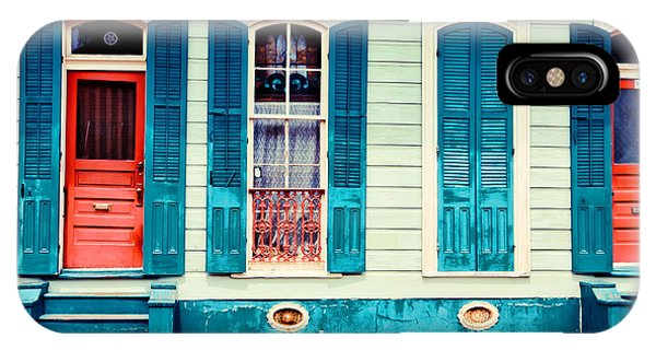 Turquoise Shutters IPhone Case