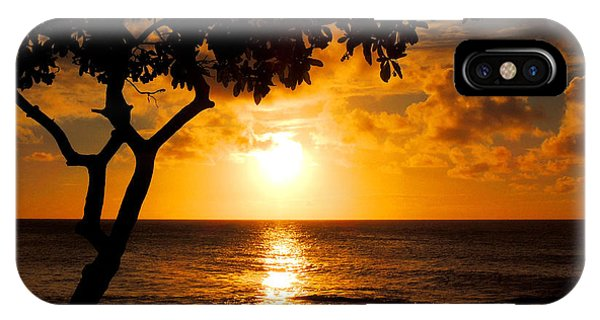 Turtle Bay Sunset IPhone Case