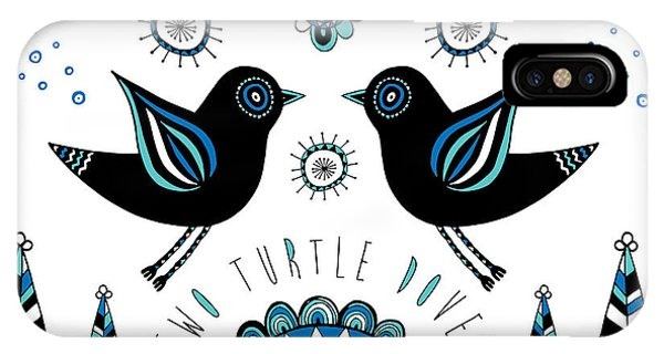 Repeat iPhone Case - Turtle Dove by Susan Claire