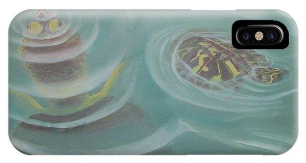 Turtle Pond I IPhone Case