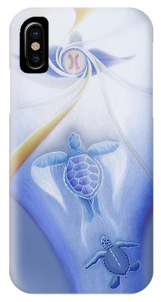 Turtles Ascending IPhone Case