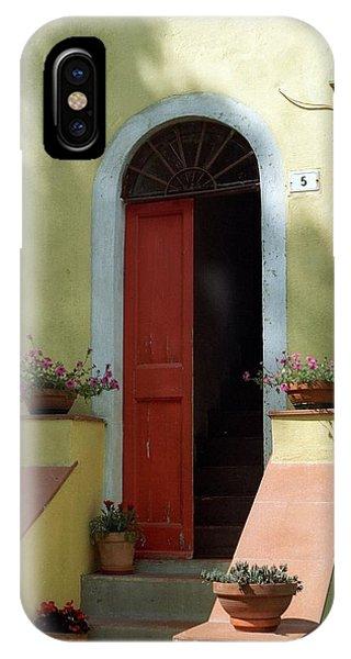 Tuscan Door IPhone Case