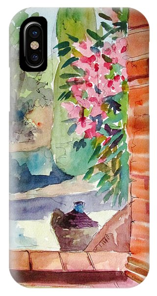 Tuscan Doorway IPhone Case
