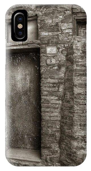 Tuscan Doorway IPhone Case