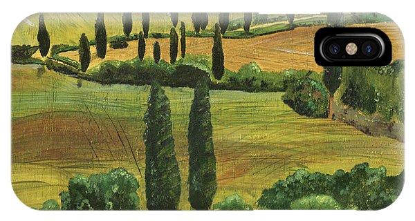 Hills iPhone Case - Tuscan Dream 1 by Debbie DeWitt