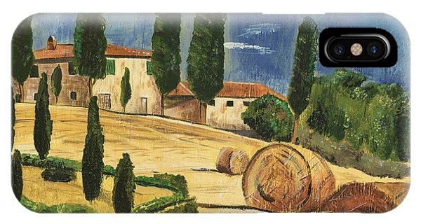 Hills iPhone Case - Tuscan Dream 2 by Debbie DeWitt