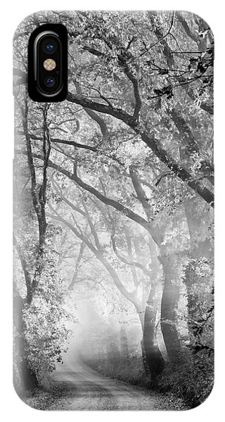 Morning iPhone Case - Tuscan Dream Alley by Mike Kreiten