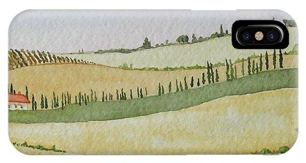 Tuscan Hillside Four IPhone Case