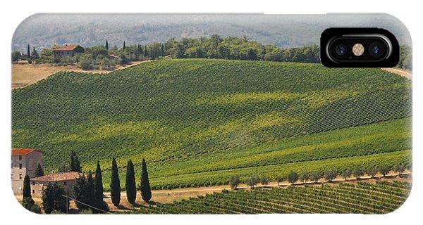 Tuscan Hillside IPhone Case