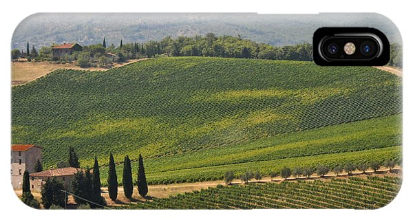 Tuscan Hillside IPhone Case