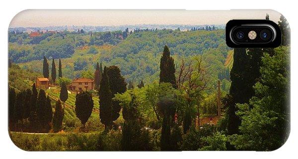 Tuscan Landscape IPhone Case