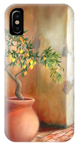 Tuscan Lemon Tree IPhone Case