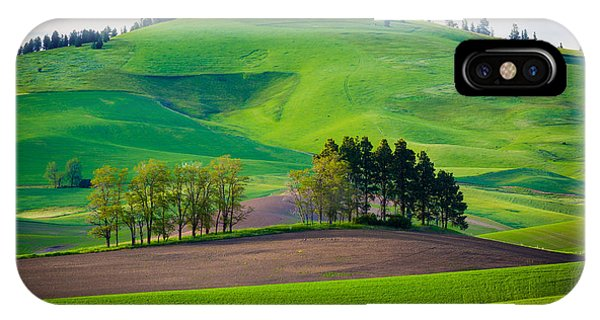 Rural America iPhone Case - Tuscan Palouse by Inge Johnsson