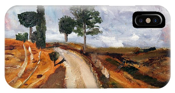 Tuscan Road IPhone Case