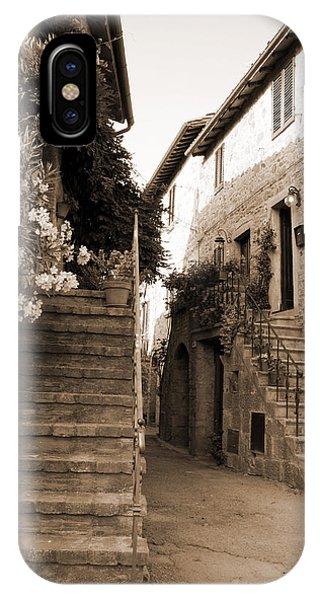 Tuscan Stairways 2 IPhone Case