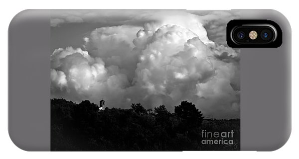 Tuscan Storm Rising From The Valley IPhone Case