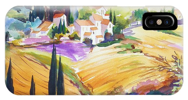Tuscan Villas And Fields Phone Case by Therese Fowler-Bailey