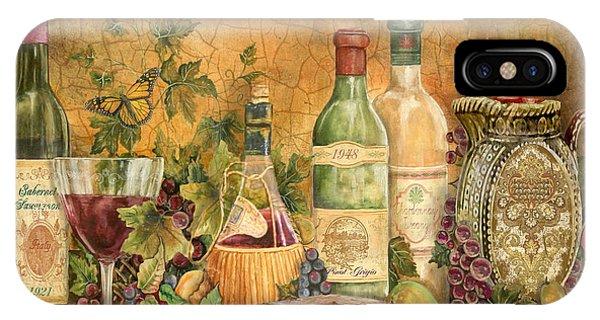 Tuscan Wine Treasures IPhone Case