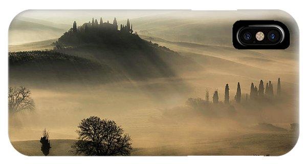 Cypress iPhone Case - Tuscany by Daniel Penciuc