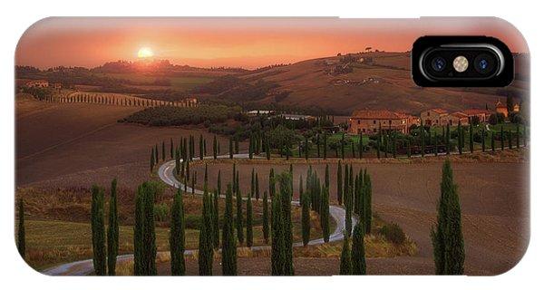 Cypress iPhone Case - Tuscany by Rostovskiy Anton