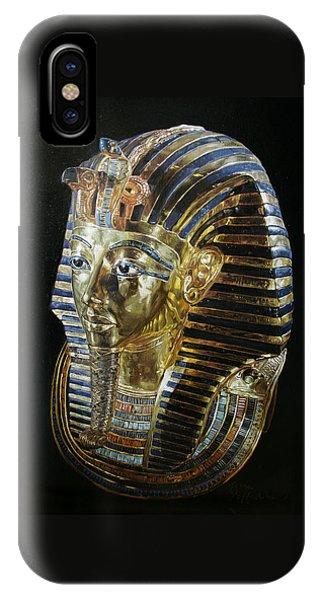 Tutankamon's Golden Mask IPhone Case