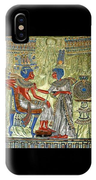 Tutankhamon's Throne IPhone Case